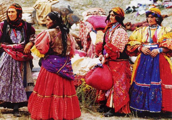 遊牧民の女性