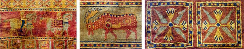 パジリク絨毯の模様